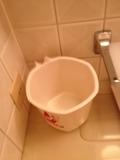風呂内ごみ箱