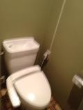 部屋内トイレ