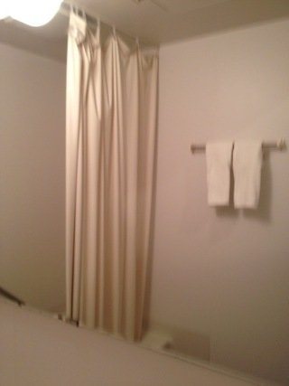 部屋内浴室