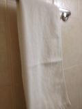 浴室内タオルかけ
