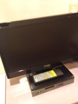 部屋内テレビ