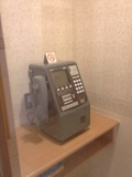 1階にあった公衆電話