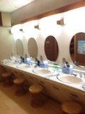 風呂場洗面