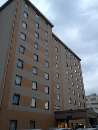 外観からのホテル
