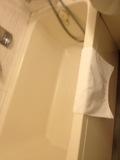 ユニットバス内の浴槽