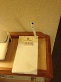 部屋内のメモ帳
