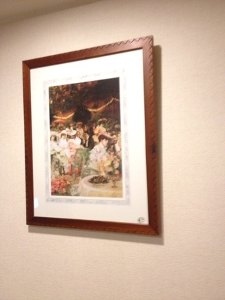 廊下にあった絵画