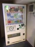4階にあった自動販売機