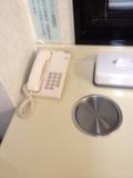 大浴場内の電話