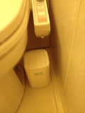 ユニットバス内ごみ箱