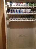 玄関入り口の自動販売機