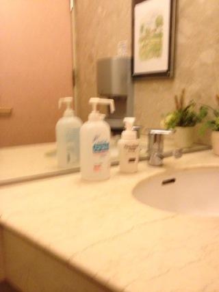 二階トイレのハンディソープ