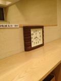 温泉内の時計