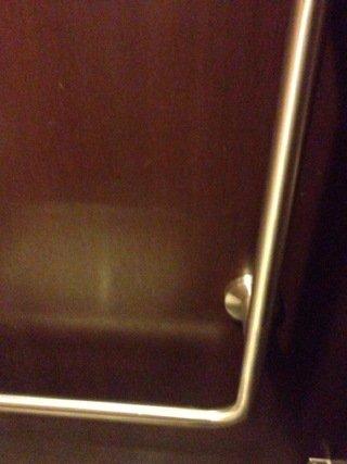 最上階トイレの手すり