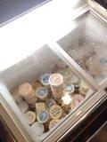 アイスクリーム冷蔵庫