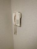 廊下にあった電話