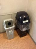 廊下にあったゴミ箱