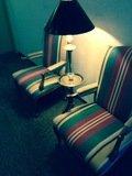 エレベーター近くにあった椅子