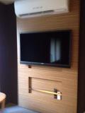 リラックスルーム内のテレビ