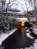 宿への小道