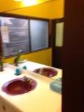脱衣所の洗面台