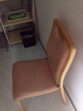 ランドリー内の椅子