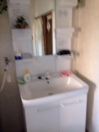 共同浴場洗面台