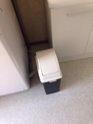 共同浴場ゴミ箱