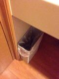 洗面台のゴミ箱