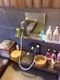 家族湯洗い場
