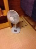 男湯の扇風機