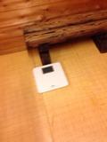男湯の体重計