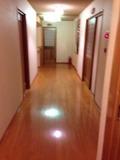 綺麗な廊下