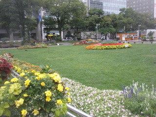 大通り公園です