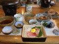 食事は富山の海産物がたくさん