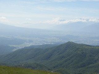 霧ケ峰の絶景