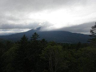 写真クチコミ:霧に包まれた阿寒岳の眺望