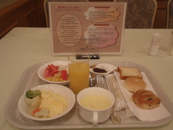 朝食はなかなか食べ応えがあります。