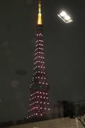 会場から東京タワーが!