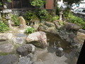 笠井邸の庭