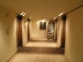 客室のエレベータはこんな感じです。