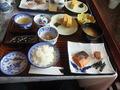 朝飯は、和食又は洋食が選択できます