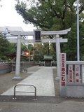 東京プリンスホテルの北隣の増上寺内に熊野大社の分院がります。