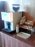 コーヒのウエルカムサービスがあります