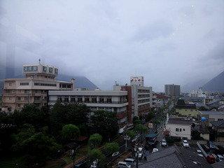 ホテルの5階から眺望です。