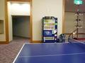 卓球コーナーにも自販機がありました