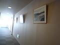 本館・西館をつなぐ渡り廊下