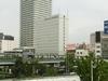 岐阜駅から見たホテル