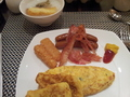 KING deluxe ロビーラウンジ朝食朝食ブッフェ(卵料理)