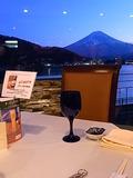 富士山を見ながらディナー!